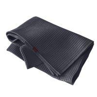 Aesthetic Bavlněný ručník/osuška s vaflovým vzorem - šedá střední Rozměr: 47x70 cm