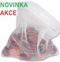 VERATEX Pytlíky na pečivo, zeleninu a ovoce 40x45cm (balení 4ks) zapínání na zip