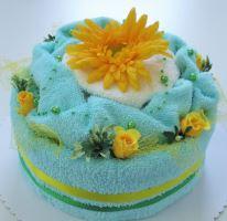 VERATEX Veratex Textilní dort 1-q jednopatrový