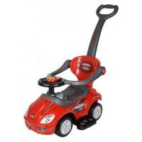 Dětské auto adrážedlo pusher deluxe mega auto 381-červená