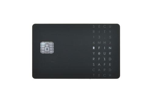 RFID ochranná karta - Černá
