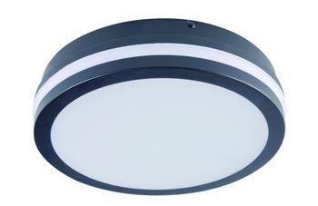 Kanlux Stropní LED svítidlo s čidlem 32945 BENO 18W NW-O-SE GR   Přisazené sv