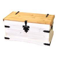 Truhla CORONA bílý vosk 16451B IDEA nábytek