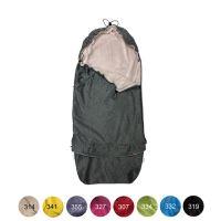 Aesthetic Fusak přechodový 3v1,  softshell/mikroplyš  (šedá melange/mix barev) Barva vnitřní: 334 limetková