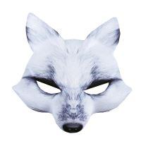 Maska bílá liška (8590687181199)