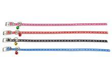 Obojek se třpytkama a rolničkou pro mazlíčky (30cm) - 1ks mix barev - 5900054731194