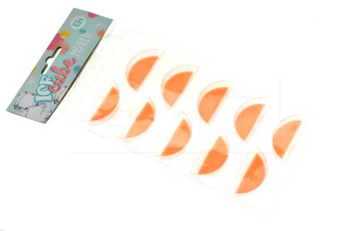 Výrobník ledu tvaru mandarinky 10 kostek 4.5x2x2cm (21,5cm)