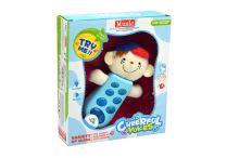 Dětský telefonek GAZELO dělá zvuky a bliká