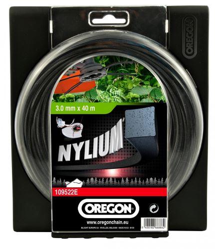 Oregon Žací struna 2,4 mm x 60 m- NYLIUM ČTVEREC (109521E)