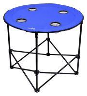 Cattara Stůl kempingový skládací SPLIT modrý 13484
