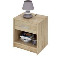 Noční stolek 163757 dub IDEA nábytek