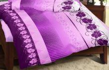 VERATEX Přehoz na postel KREP 140x200 cm (vyberte dezén z nabídky Krepové povlečení)