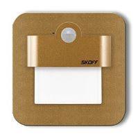SKOFF LED nástěnné schodišťové svítidlo se senzorem MJ-SAL-M-N Salsa mat.mos