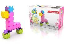 Tvůrčí stavební kostky meli dívky základní 50 kusů