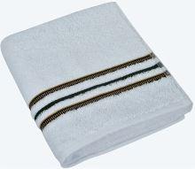 VERATEX Froté ručník Proužek 50x100cm 530g bílá