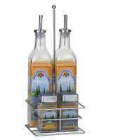 Euro Lady El-9099 Set koření a lahví oleje a octu