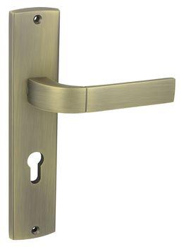 Vchodové kování FOKUS K+K Klika dlouhý štít vchodová