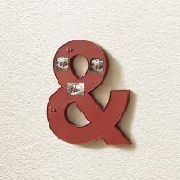 Dekorační magnetická tabule červená IDEA nábytek