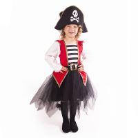 Dětský kostým pirátka (L) (8590687187030)