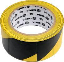 Vorel Páska výstražná černožlutá 48 mm x 33 m TO-75231