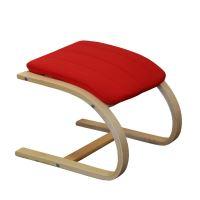 Podnožka LISA červená IDEA nábytek
