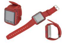 Smart Watch bluetooth hodinky - Červené - 8657988016480