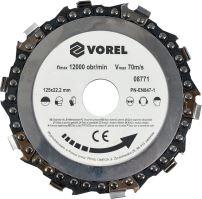 Vorel Kotouč řetězový 125 mm TO-08771