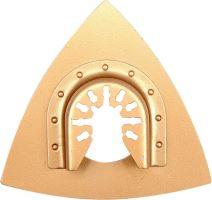 Yato Trojúhelníková brusná deska pro multifunkci HM, 80mm (beton, keramika ) YT-34687