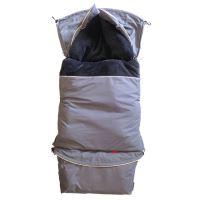 Aesthetic Fusak CITY 3v1 univerzální - Klasik - šedá střední - šedá titanová