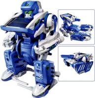 Solární stavebnice Solar Transformers - hračka SolarBot  SolarKit 3 v 1 robot, škorpión, tank