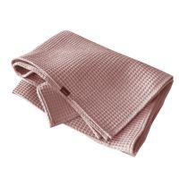 Aesthetic Bavlněný ručník/osuška s vaflovým vzorem - starorůžová Rozměr: 47x70 cm