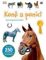 Knížka samolepková - Koně a poníci (9788075180377)