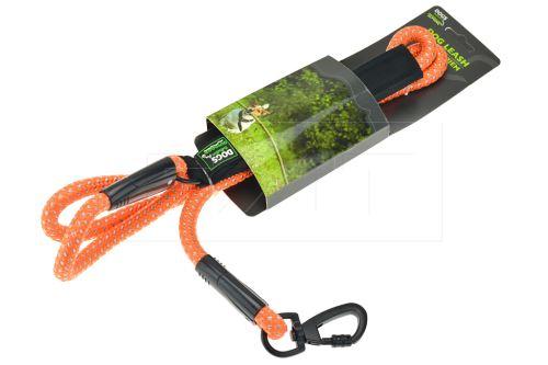 Reflexní vodítko pro psy DOGS - 150cm, oranžové - 8719987076794