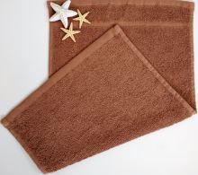 VERATEX Dětský froté ručník 30x50 cm hnědý