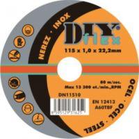DY 11510 (115x1,0) - Kotouč řezný na ocel, nerez (10)