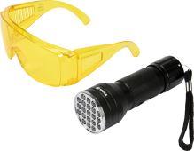 Vorel Sada detekční UV svítilny s ochrannými brýlemi TO-82756