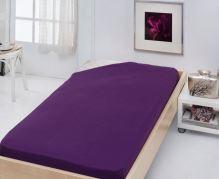 Stanex Jersey napínací prostěradlo fialové Jersey napínací prostěradlo fialové 90x200