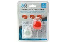 Silikonové LED světlo na kolo - Set 2ks - 8719407034250