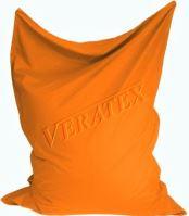 VERATEX Sedací vak/pytel Klasik 120 x 160 x 25cm (oranžový)