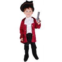 Dětský kostým kapitán Hook (M) (8590687195868)