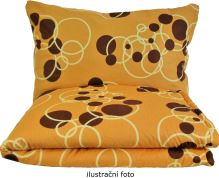 VERATEX Set polštáře a přikrývky - Bavlna 70x90 +140x200cm