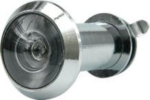 Vorel Kukátko do dveří 35 - 50 mm 200° stříbrné TO-77921