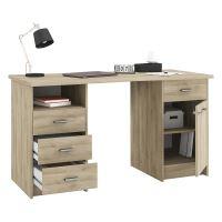 Psací stůl MONACO 2 dub IDEA nábytek