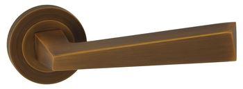 Dveřní dělené rozetové kování KYRK-R