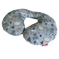 Aesthetic Bezpečnostní nákrčník bavlna plátno - bunny modrá