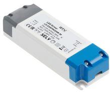 GTV  LD-ZASPRO24W-30 LED trafo AC220-240/DC12V, 24W ,  IP20