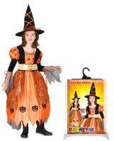 Dětský kostým čarodějnice/Halloween (S) (8590687028890)