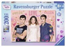 Puzzle XXL Violetta, Tom i Leon 200