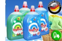 Prací gel 6 L na bílé prádlo 100 dávek