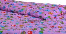 Stanex Dětské ložní povlečení bavlněné balónky růžové (LS309) Dětské ložní povlečení 135x90 + 45x65 - (LS309)